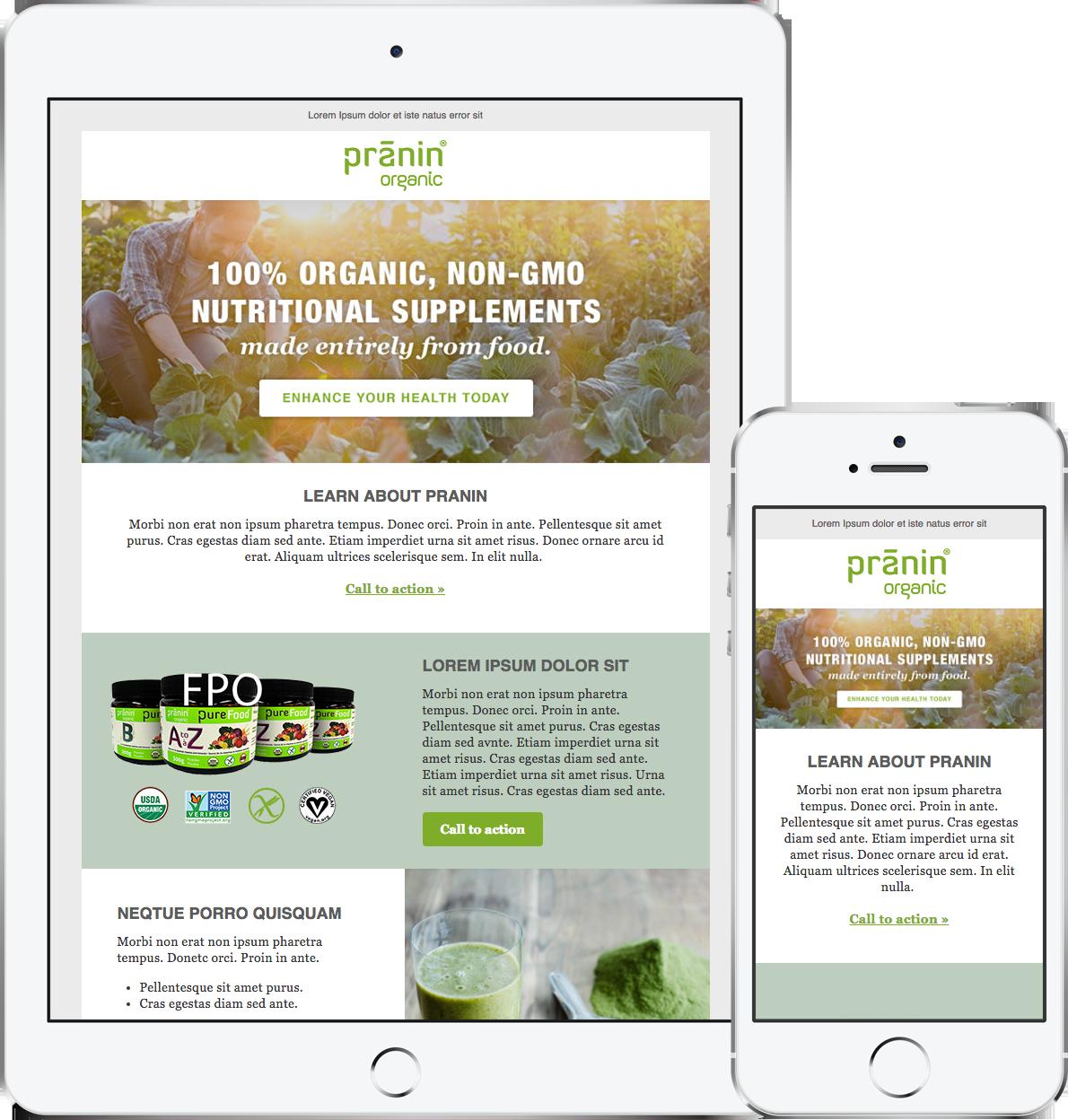 Pranin Organic Newsletter