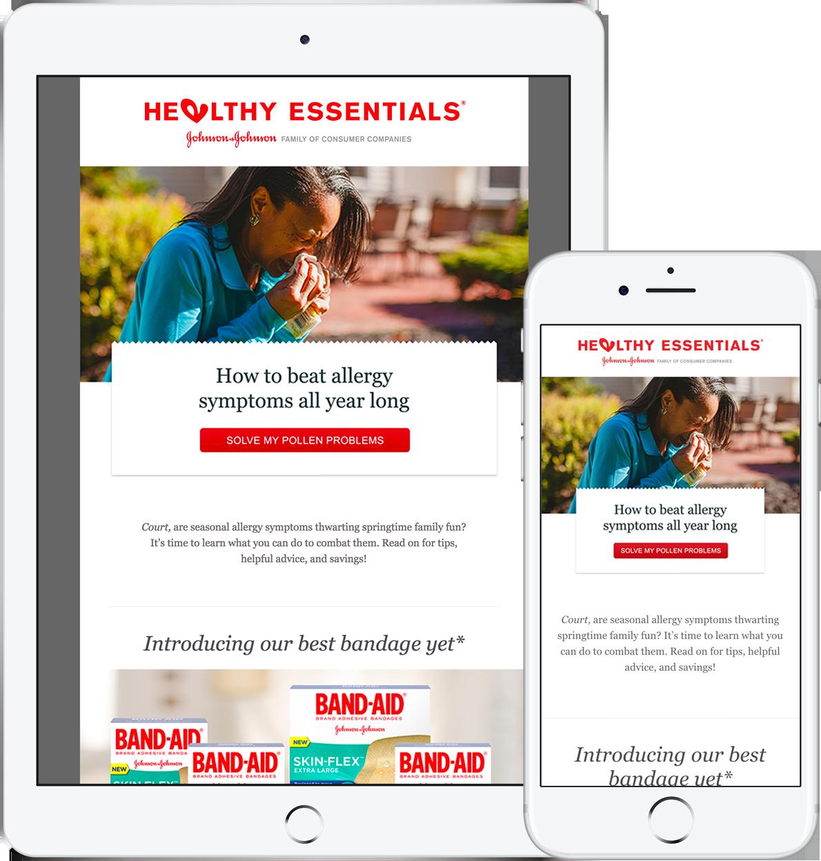 Healthy Essentials Email Newsletter 2017